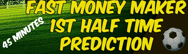 First Half Predictions today